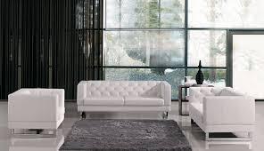 Modern Sofas Leather The Best White Modern Sofas