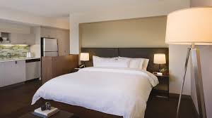 Universal Design Bedroom Seaport Accommodations One Bedroom Suite Element Boston Seaport