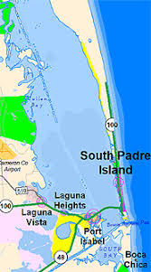 fishing maps and spots for south padre island and the lower laguna
