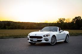 fiat spider white review 2017 fiat 124 spider canadian auto review