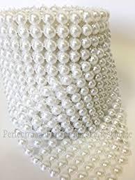 pearl ribbon aspire pearl party decorations pearl mesh ribbon 10
