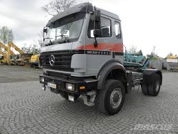 mercedes 4x4 trucks used mercedes 2038 sk 4x4 tractor units year 1997 price