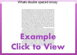 essay format double spaced whats double spaced essay research paper academic writing service