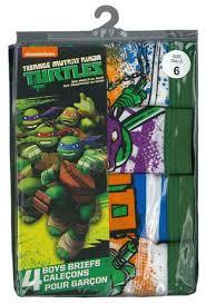 nickelodeon boys teenage mutant ninja turtles 4 pack briefs