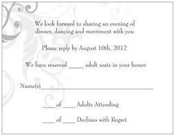 adults only wedding invitation wording wedding invitation wording no children