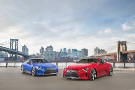 yellow lexus in new commercial lexus talks up performance in first lc 500 spot