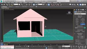 3d Max Home Design Tutorial by How To Model Simple House 3ds Max Tutorial Part 1 Youtube