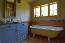 mexican tile bathroom designs talavera tile bathroom rustic with blue cabinets cabin claw foot