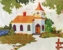 Country Cottage Cross Stitch Creative Cottage Etsy
