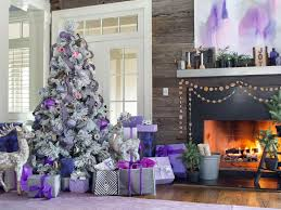 How To Decorate Your Bedroom With No Money 50 Christmas Tree Decorating Ideas Hgtv