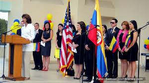 consolato colombiano inauguran consulado de colombia en orlando ministra mar祗a a holgu祗n