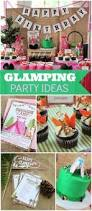 Backyard Birthday Ideas Camping Themed First Birthday Party Camping Party Favors