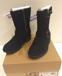 womens size 9 ugg boots ebay ugg s chaney black suede boot 1006042 size 9 ebay