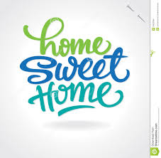 Home Design Vector Free Download Home Sweet Home U0027 Hand Lettering Vector Royalty Free Stock Images