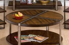 coffee tables rustic round coffee table thrilling iola rustic