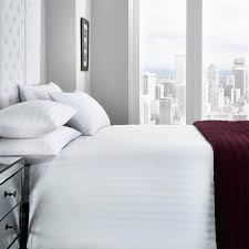 torino white bedding set
