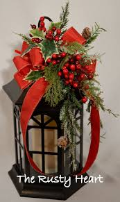 christmas lantern swag perfect for our outdoor lights on each