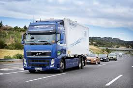 what is the latest volvo commercial about sartre road train premiere on public roads volvo cars belux