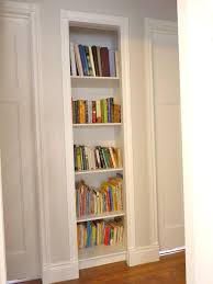 Shallow White Bookcase by White Bookcase With Glass Doors Full Size Of Furniture Homewhite