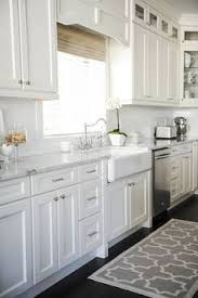 Kitchen Design With White Cabinets White Cabinets Grey Granite White Subway Backsplash Stainless