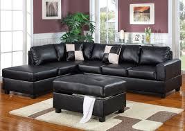 Reversible Sectional Sofa Chaise Bobkona Lexington Reversible Chaise Sectional Sofa With Ottoman
