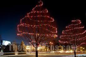 how to wrap christmas lights around a tree how to hang christmas lights