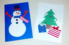 craft time 6 holiday card making ideas the creative kids club