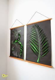 Room Decorating Ideas With Paper Diy Wall Art Affordable Art Ideas