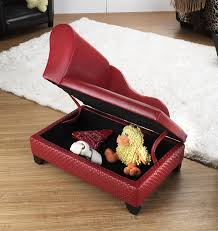 Pet Chaise Pet Chaise Bed With Hidden Storage Red Basketweave