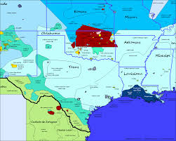 Missouri On Map Texas Oklahoma Kansas Missouri Louisiana Mississipi