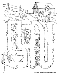 6 images of farm safety coloring pages farm animals coloring