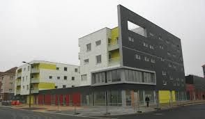 bureau service dunkerque construction 30 logements collectifs maison des services