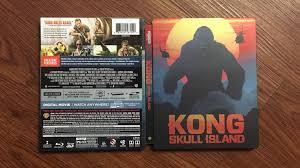 unboxing kong skull island best buy exclusive 4k 3d steelbook