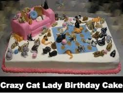 Cat Birthday Memes - 25 best memes about crazy cat lady birthday cake crazy cat