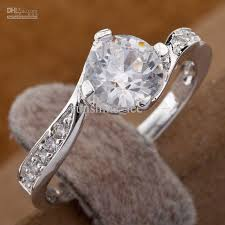 silver nice rings images 925 silver fashion rings small clear diamond dazzling womens rings jpg