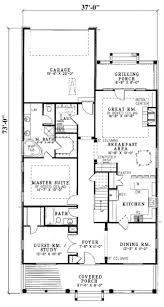 uncategorized house plan for a narrow lot top for glorious top