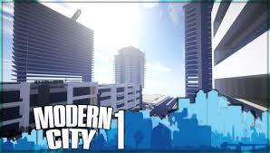 Modern City Minecraft Modern City Episode 1 Youtube