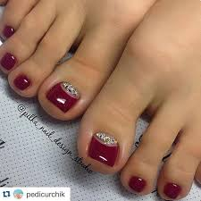 best 25 red toenails ideas on pinterest toe nails red toenails
