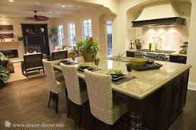 image detail for traditional open kitchen to living room photo