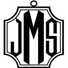 3 letter monogram metal crest framed 3 letter monogram gracious bridal design house