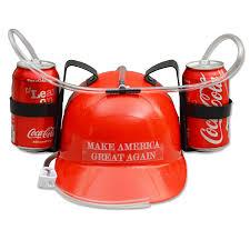 amazon com donald trump make america great again drinking hat