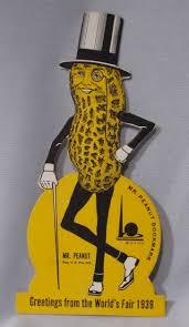Planters Peanuts Commercial by Mr Peanut Planters World U0027s Fair Bookmark