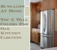 what color walls with wood cabinets 5 top wall colors for kitchens with oak cabinets hometalk