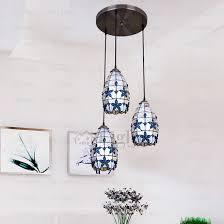 Three Light Pendant Three Light Lilac Flower Ornament Multi Tiffany Pendant Lights