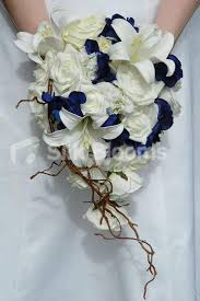 Blue Wedding Flowers Silk Wedding Flowers Artificial Wedding Flowers U0026 Bridal Bouquets