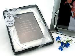 picture frame wedding favors ring brushed photo frame favor