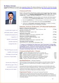 Resume For Teachers Job Application by 8 Samples Of Curriculum Vitae For Teachers Basic Job Appication