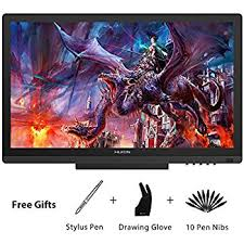 huion gt 191 8192 level pen display drawing monitor amazon co uk