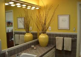 yellow bathroom decorating ideas bathroom decorating ideas gray and yellow comfortable bathroom