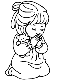 lds prayer coloring page clipart panda free clipart images